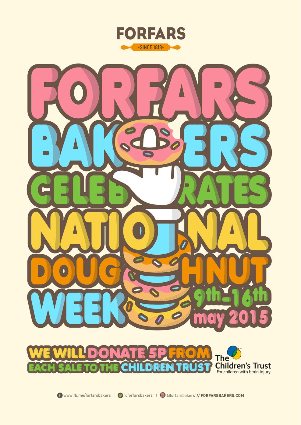 Donuts por una buena causa