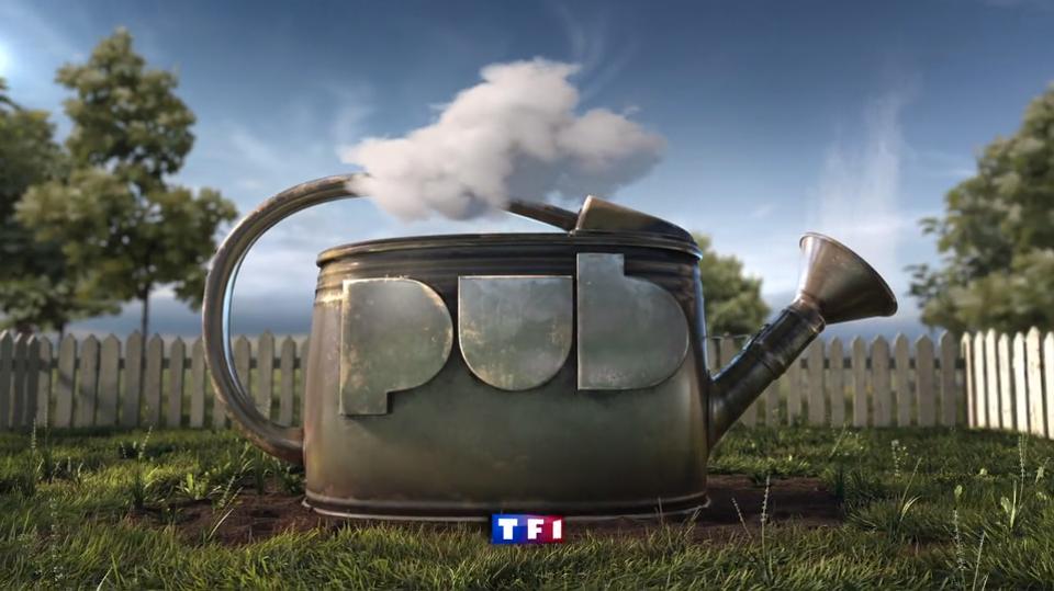 cabeceras 3D para TF1 por Naked