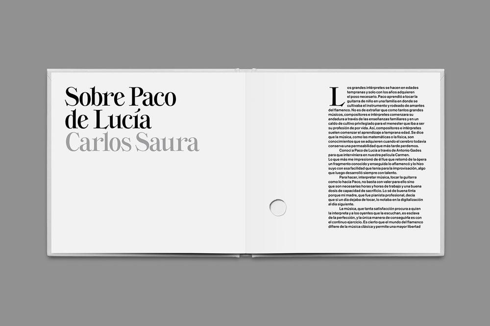 Disco tributo a Paco de Lucía con dirección de Mucho