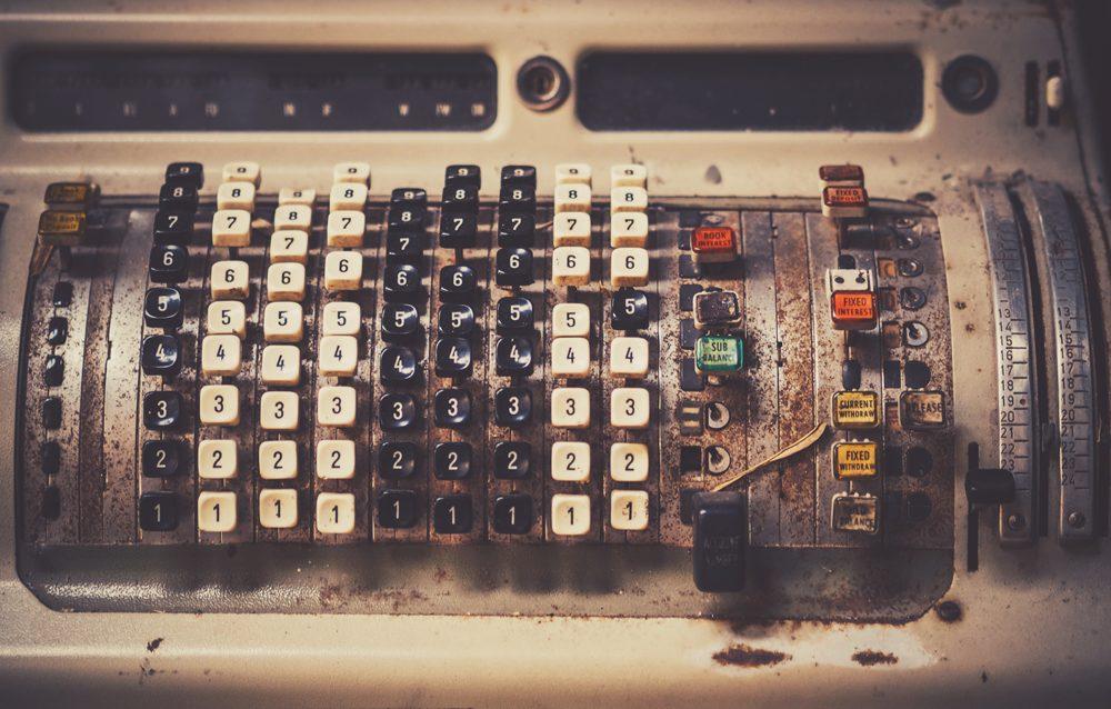 Máquina registradora – fotografías de objetos retro en descarga gratuita