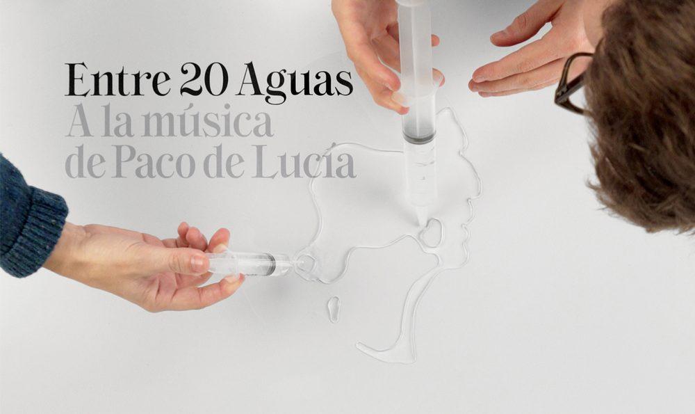 Entre 20 Aguas, el disco tributo a Paco de Lucía con dirección de Mucho