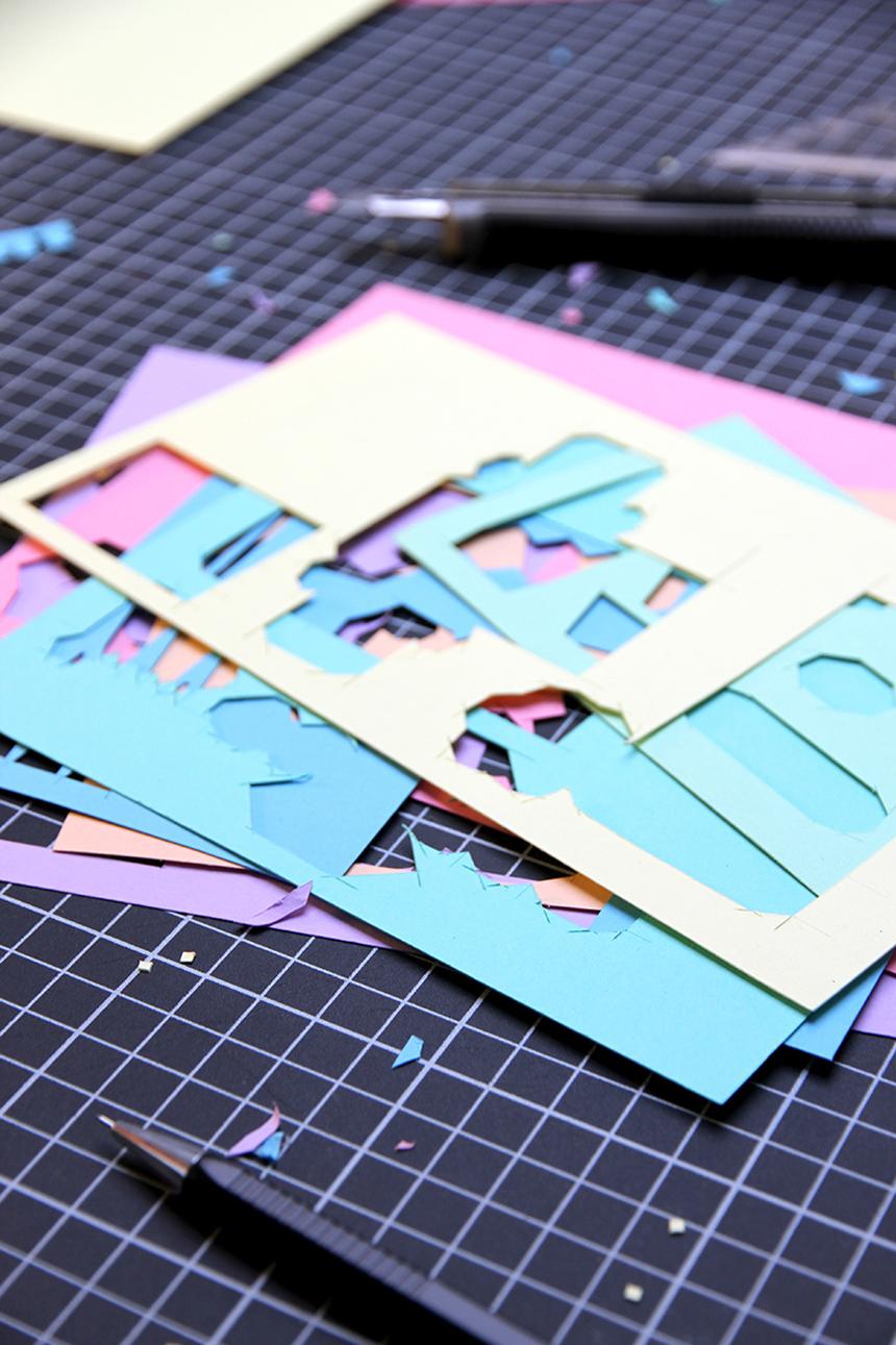 Zim & Zou y el arte de salvar una vida en papercut