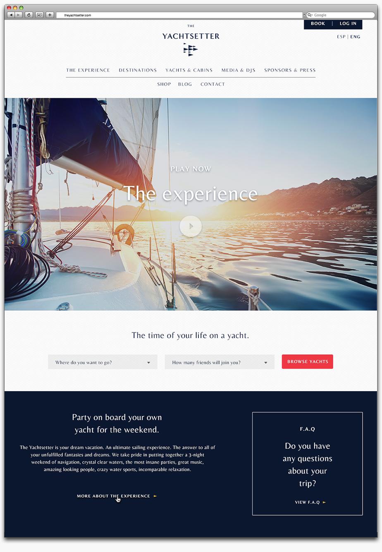 Un branding para vivir una experiencia náutica