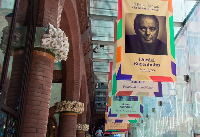 Eclecticismo gráfico para la temporada 2015-2016 del Palau de la Música