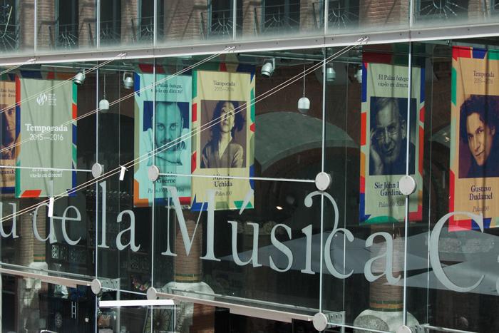 Eclecticismo gráfico para la temporada 2015-2016 del Palau de la Música Catalana