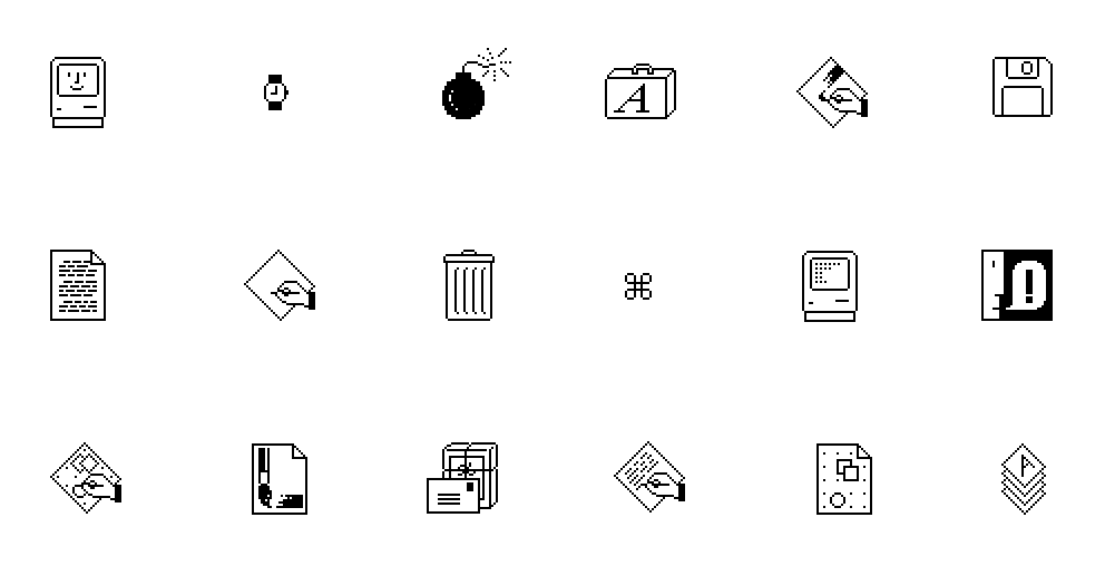 Susan Kare, pionera del pixel art para interfaces digitales