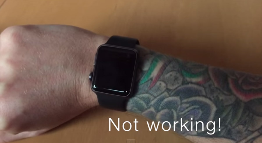 El Apple Watch no funciona