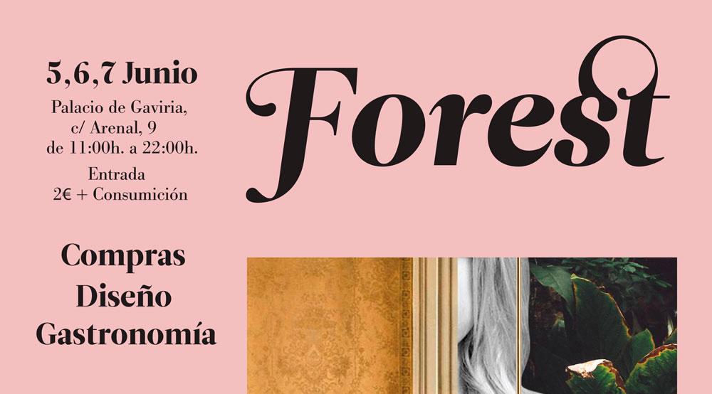 Pop Up Forest. Nueva propuesta de Mercado de Diseño