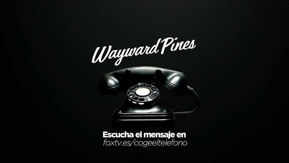 #CogeElTeléfono. La inquietante llamada de Wayward Pines