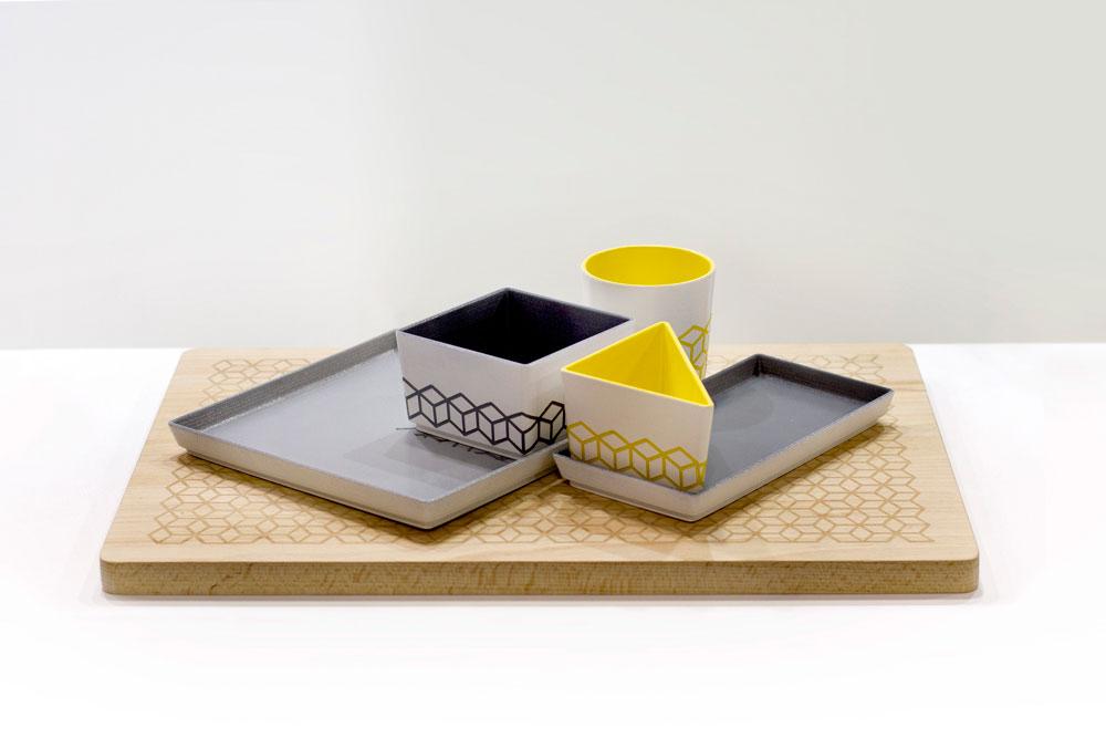Piezas diseñadas por Marta Ferrer .