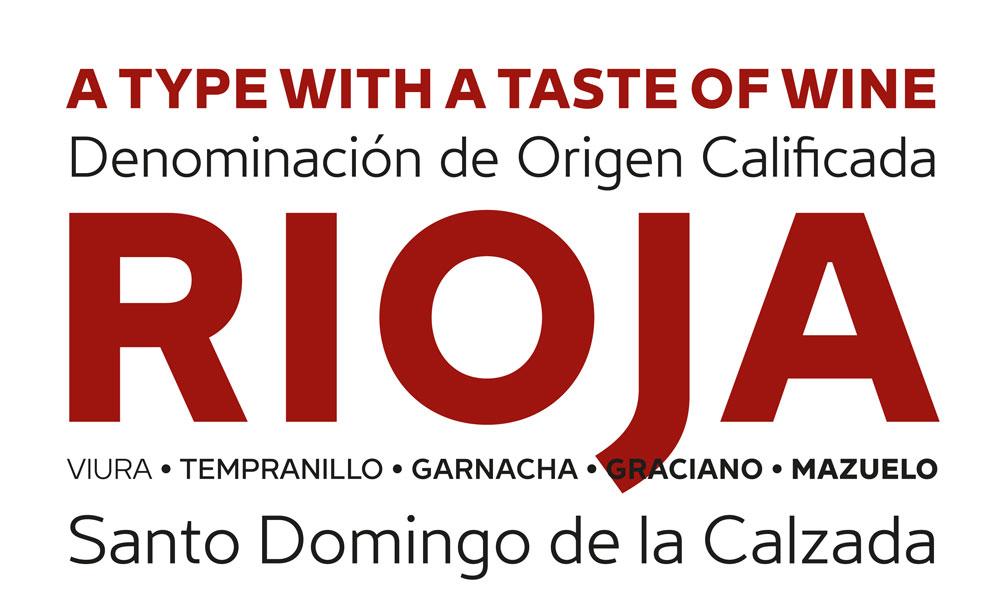Andreu Balius: «Una tipografía para La Rioja tenía inevitablemente que saber a vino»