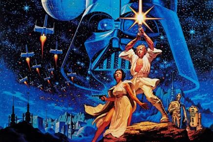 El cartel original de Star Wars y algunas rarezas