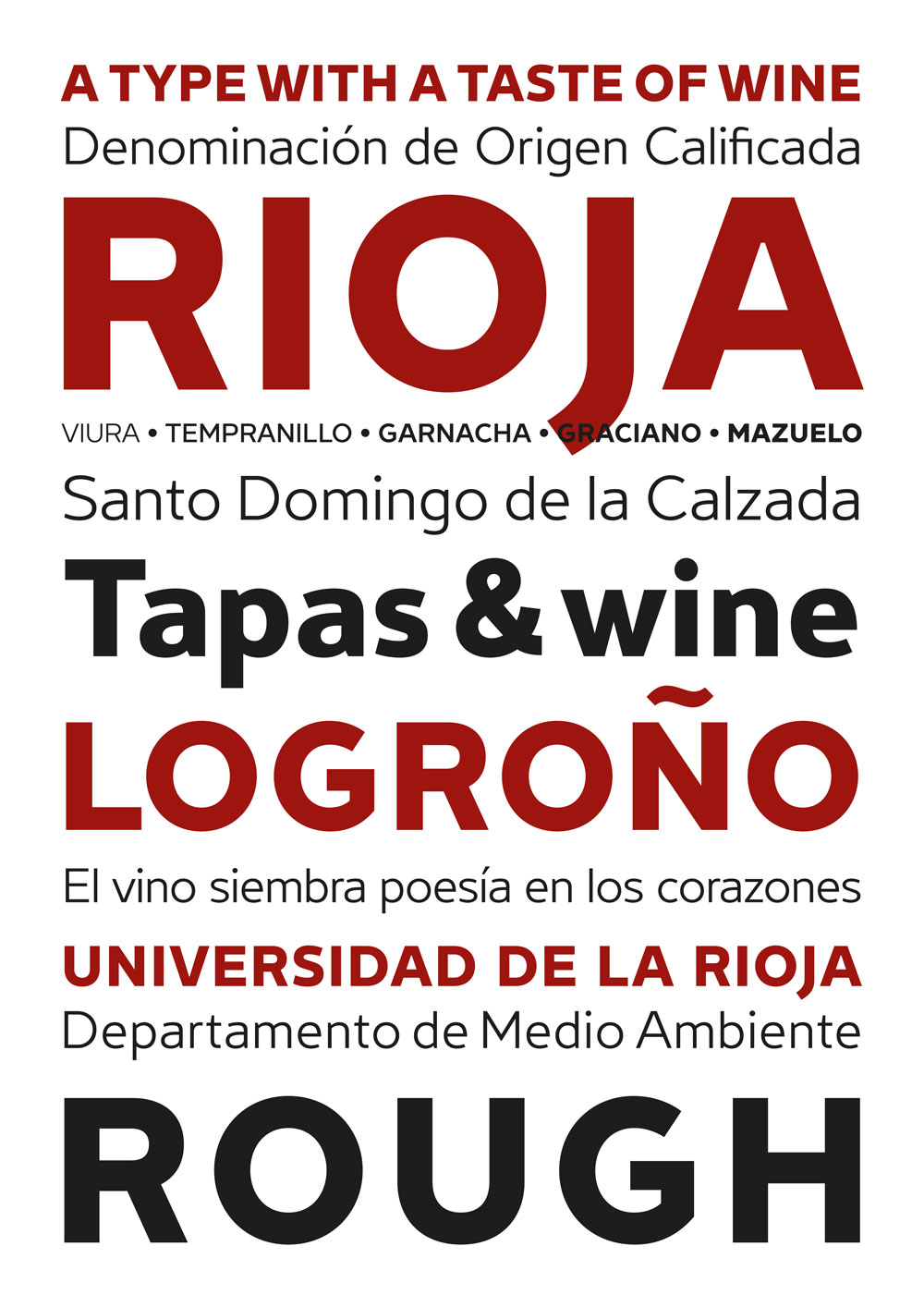 Rioja, la tipo con sabor a vino de Andreu Balius