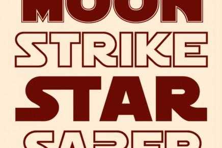 Tipografías al estilo Star Wars