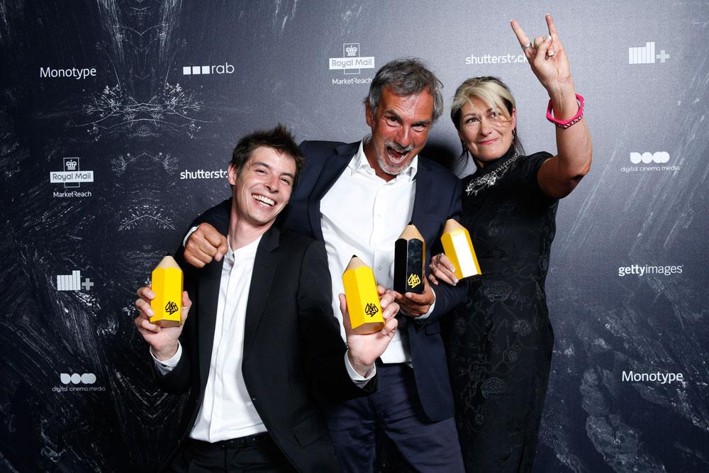 D&AD deshoja la margarita de ganadores