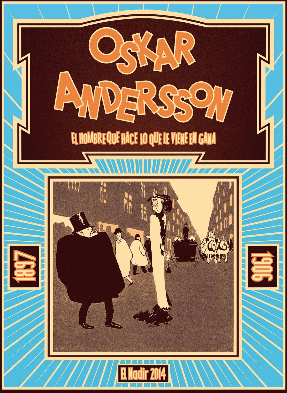 Oskar Andersson humorista gráfico – Portada de El Nadir Gráfica