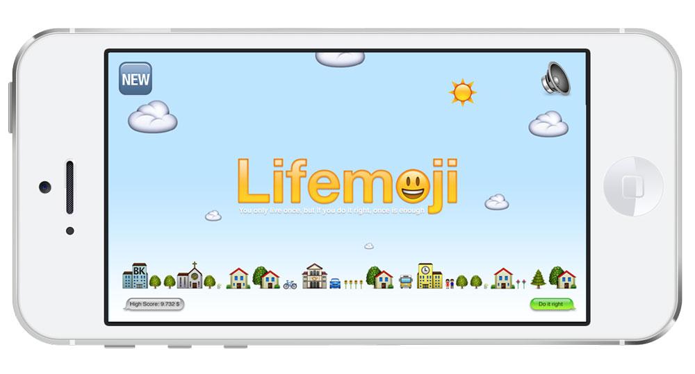 Lifemoji, una verdadera prueba de coordinación y percepción