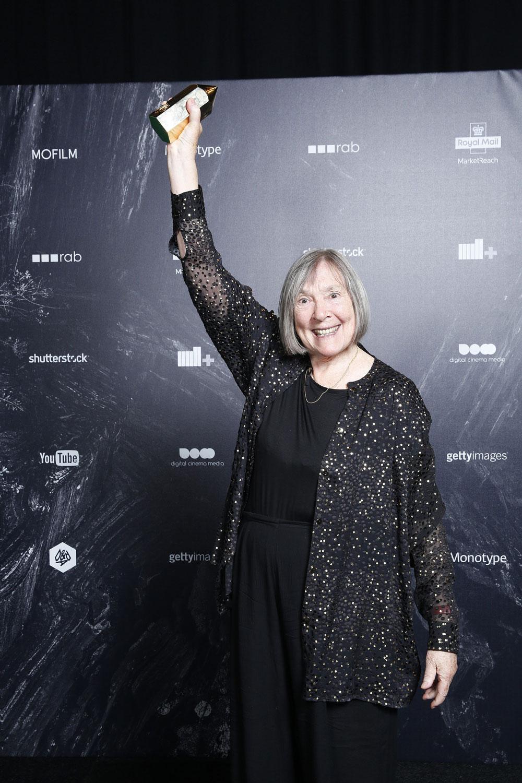 Margaret Calvert, winner of the D&AD President's Award