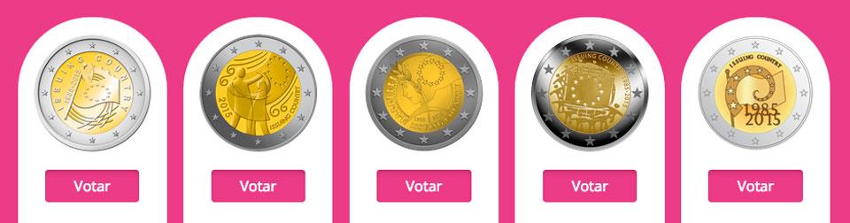La moneda conmemorativa de la bandera de la UE saldrá de un concurso popular