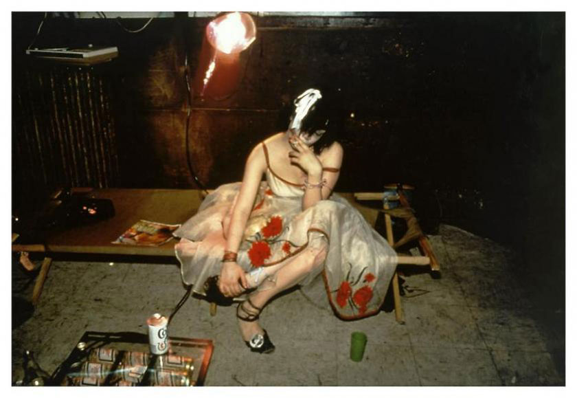 Nan Goldin. Trixie on the Cot, NYC, 1979.
