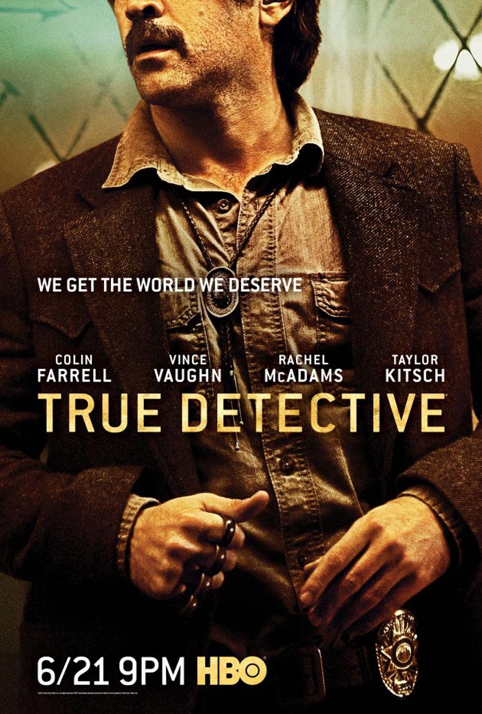 Carteles de True Detective, 2ª temporada