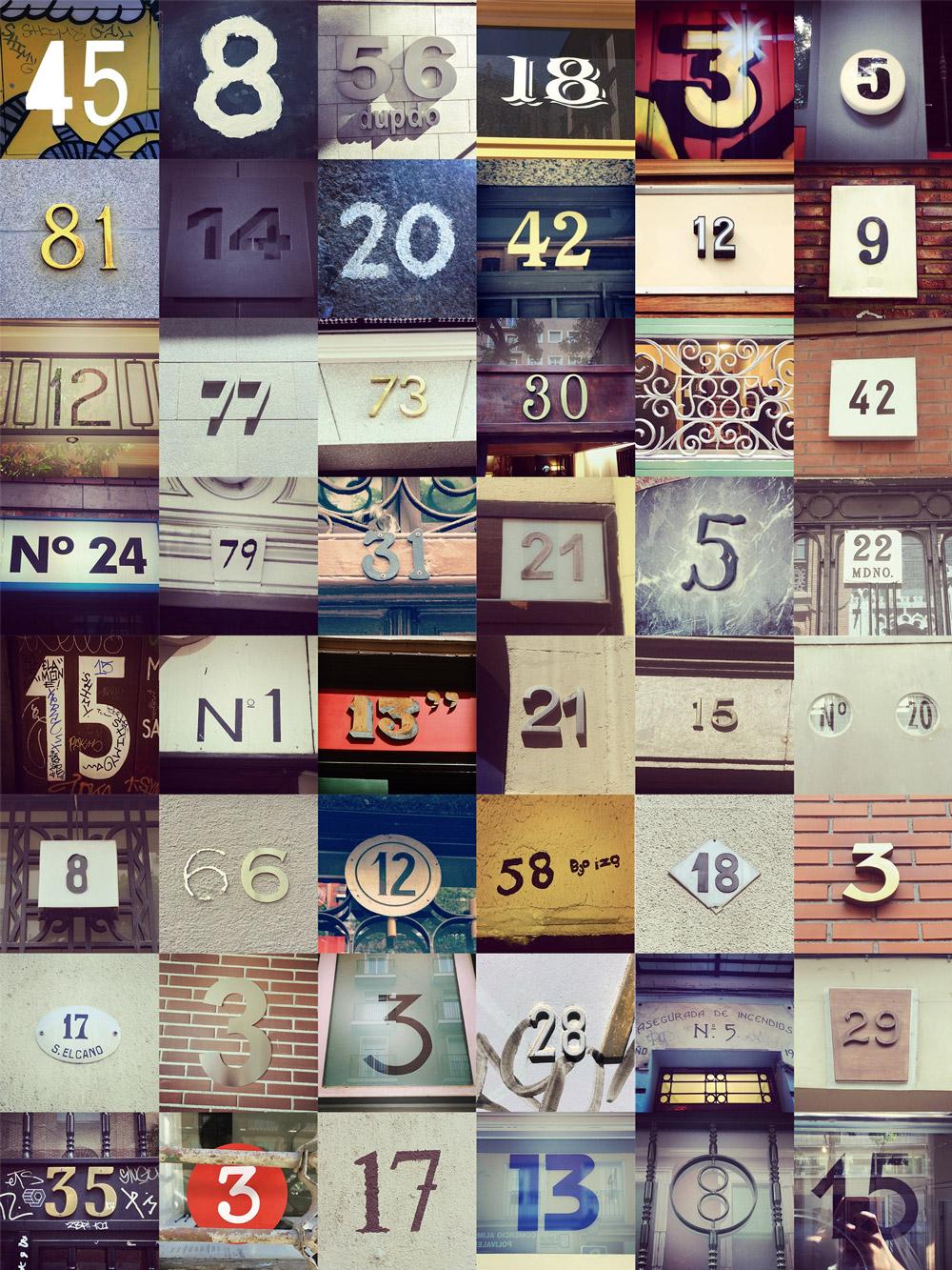 Los números más bonitos o curiosos de la ciudad de Madrid