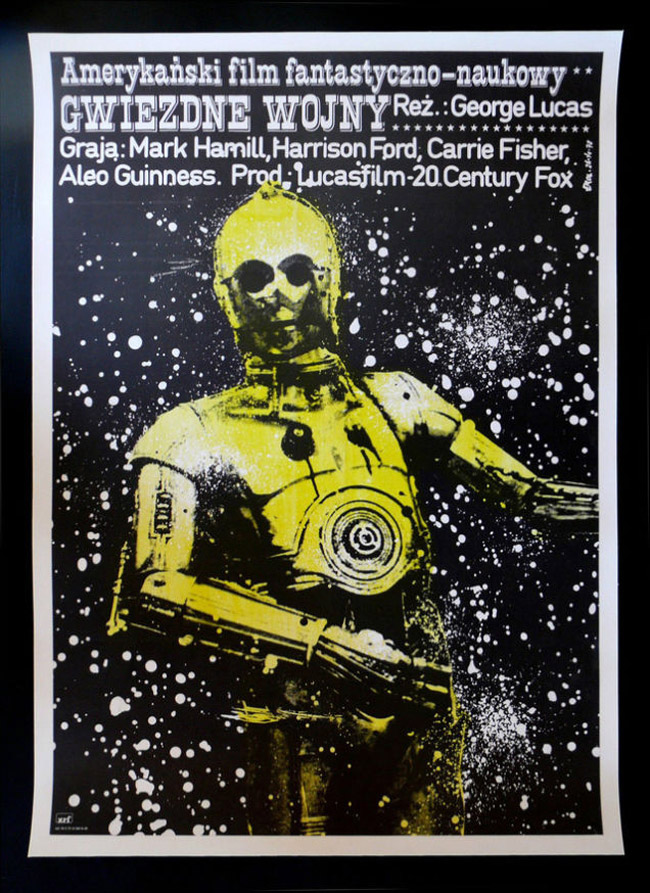 carteles rarunos de Star Wars