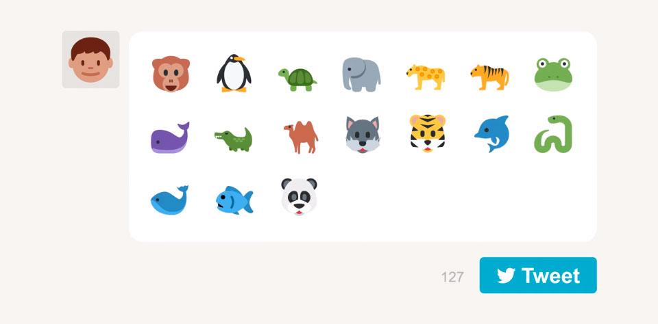 WWF emojis para salvar a los animales en peligro de extinción