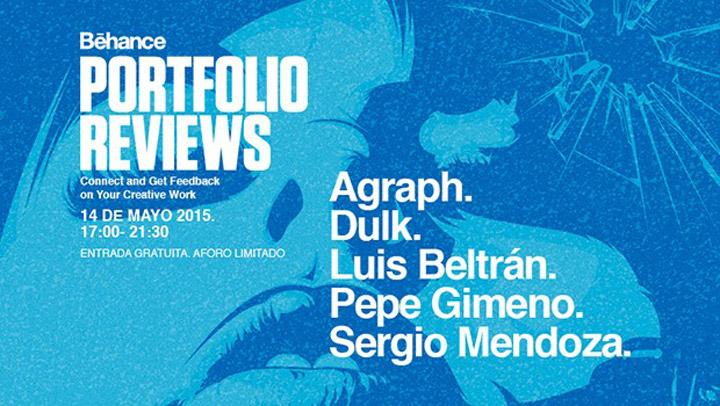 VII Behance Portfolio Reviews Valencia