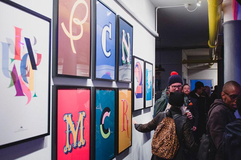BCNMCR Letters. Identidad y carteles de Laura Meseguer