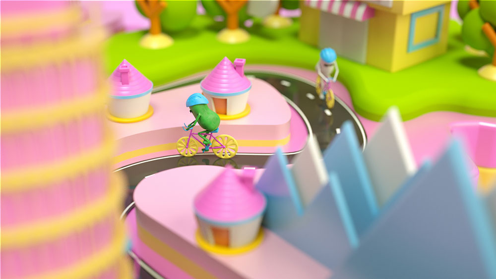 Desde Japón, el equipo formado por Ryogo Toyoda, Nahuel Salcedo y Sebastian Fondevila se ha encargado de realizar esta fresca y descarada pieza de promoción del Giro de Italia. Ciao bambino!