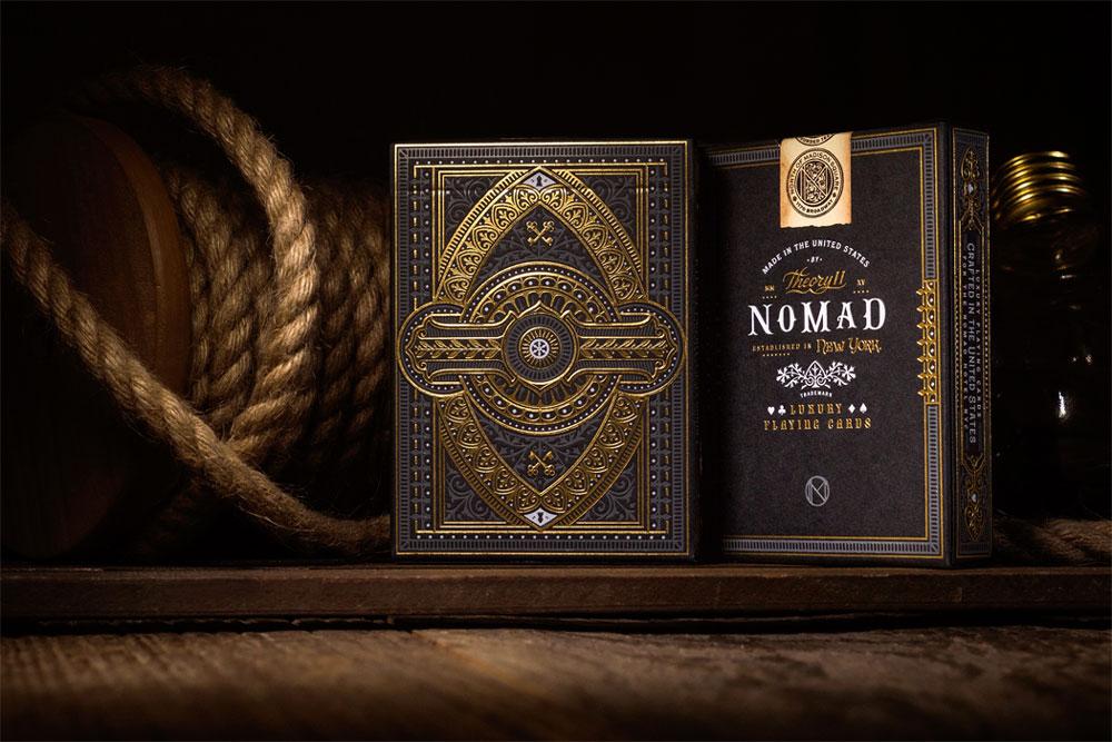 NoMad. Un juego de cartas deluxe bellamente dibujado a mano