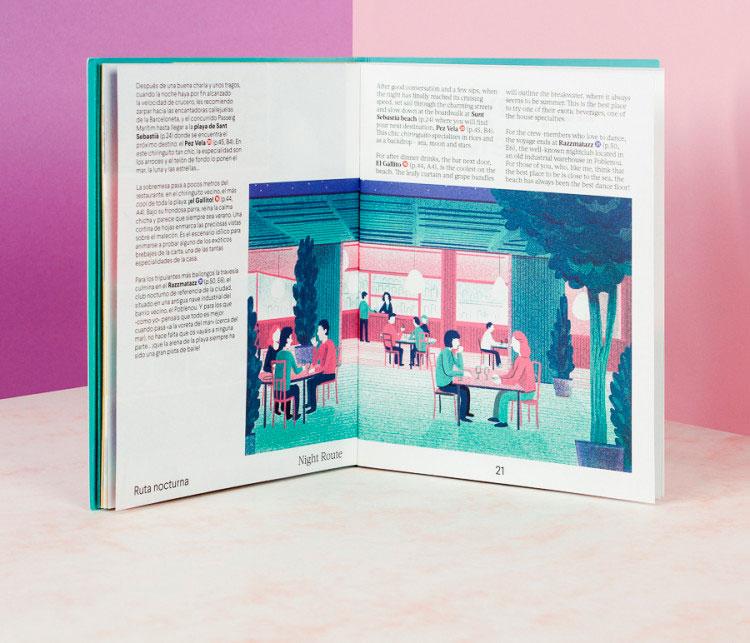 Walk With Me  – Guías de Barcelona ilustradas, bonitas y sin caer en los tópicos