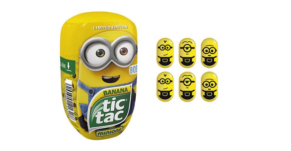 Los caramelos Tic Tac sabor Banana se 'minionizan'