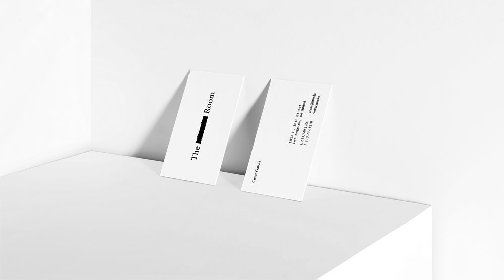 Savvy Studio ha desarrollado la identidad visual de The Mistake Room