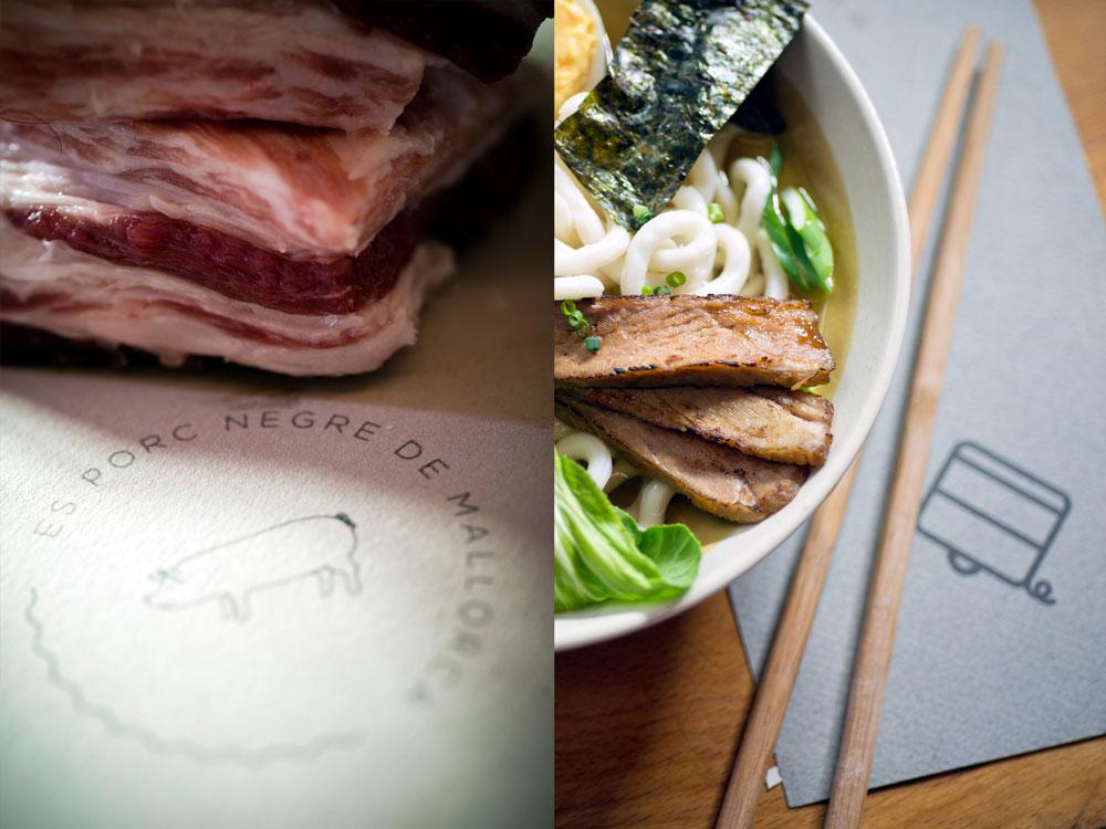 La Pickup, gastronomía mallorquina sobre ruedas con diseño de Nomon Design