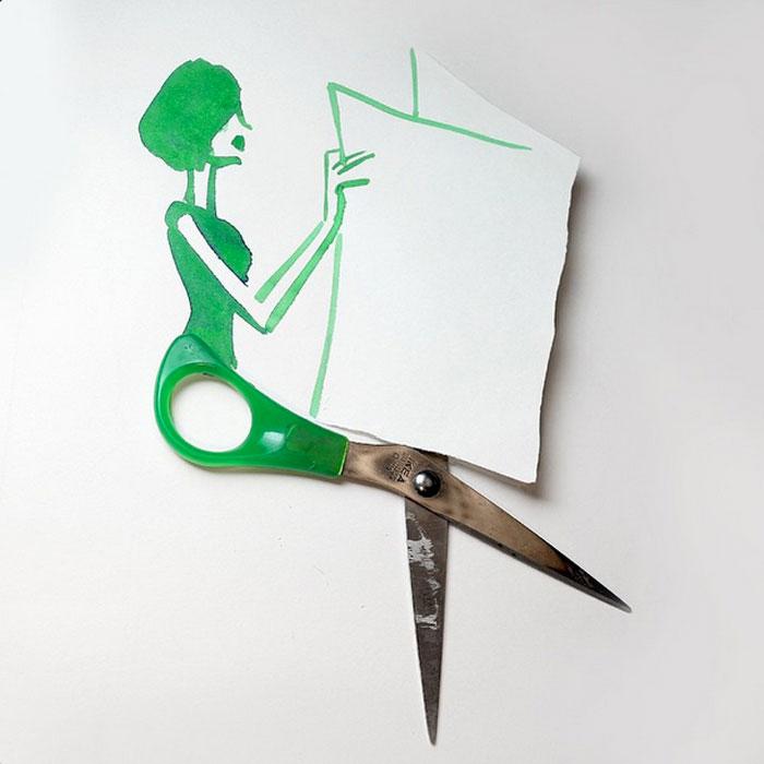 Sunday sketching, ilustraciones de Christoph Niemann