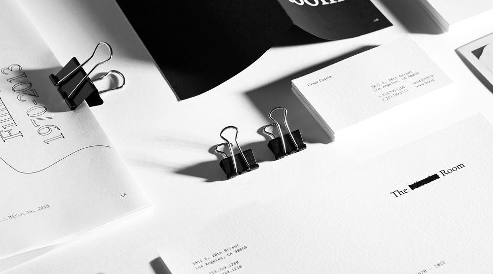 Savvy Studio ha desarrollado la identidad visual de The Mistake Room