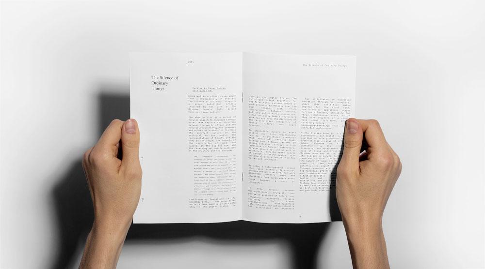 SavvyStudio ha desarrollado la identidad visual de The Mistake Room