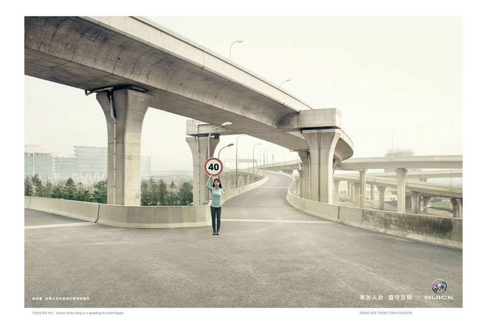 Human Traffic Sign – Agencia Lowe China
