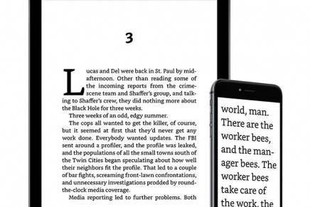 Kindle cambia de tipo para mejorar la legibilidad