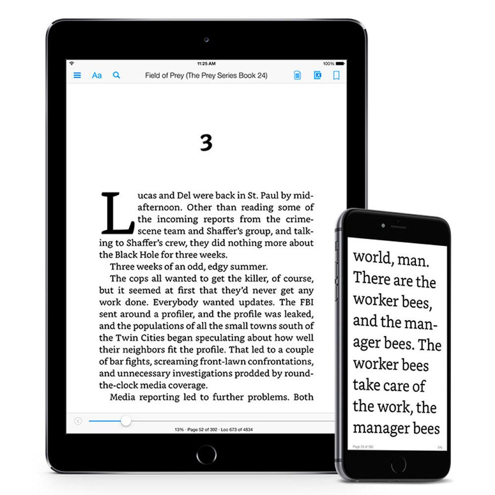 Bookerly es la nueva tipografía que sustituirá a Caecilia en los dispositivos Kindle