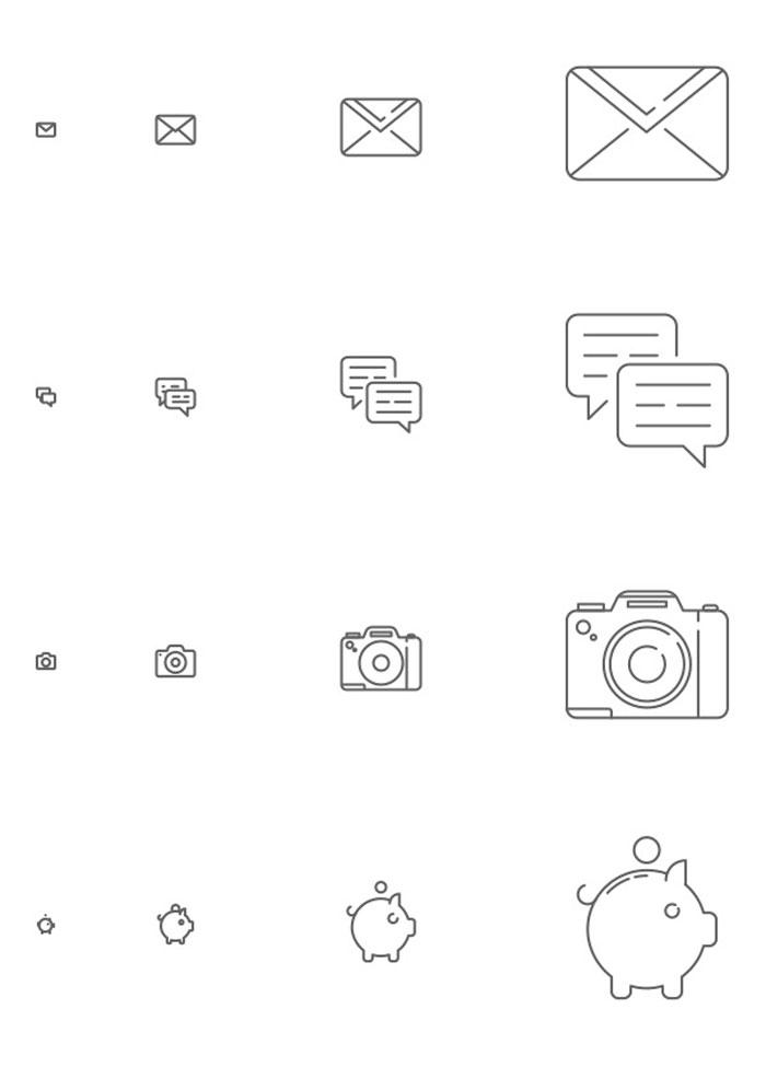 Iconos responsive en descarga gratuita