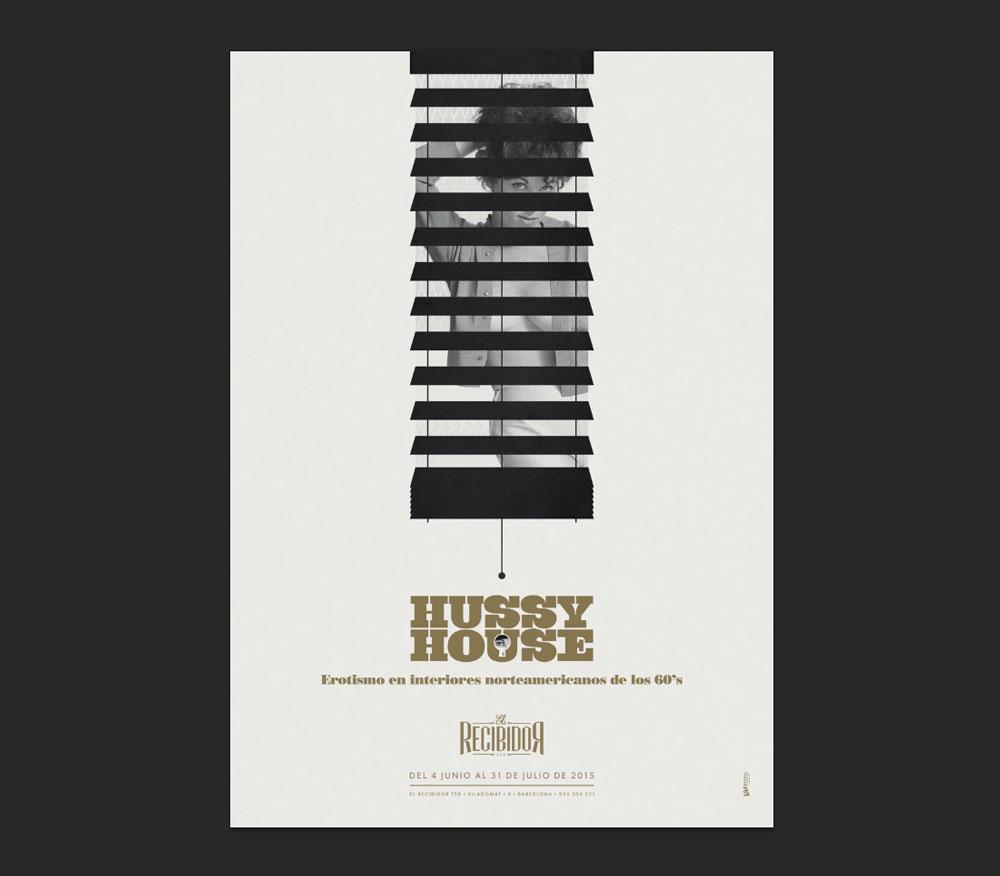Hussy House. Desnudos en espacios cotidianos – Expo fotográfica en El Recibidor