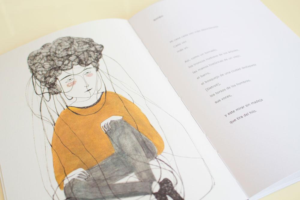 Bajo la lengua, bichos – Poesía ilustrada por Uxue Juárez y Daniela Spoto