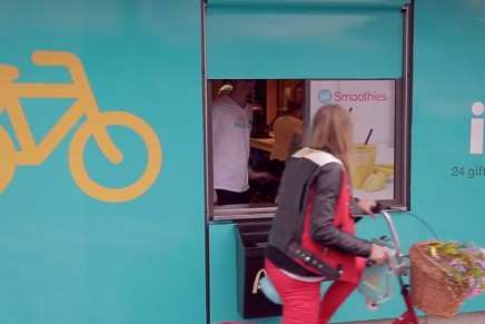 McBike. Un packaging take away para bicis creado para McDonald's