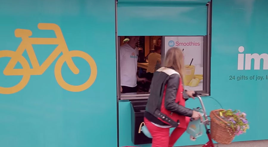 McBike. Un packaging take way para bicis creado por McDonald's