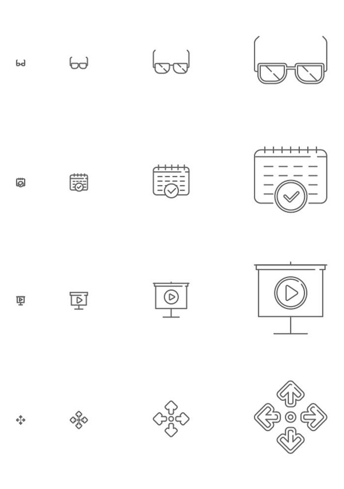 Icons responsive en descarga gratuita