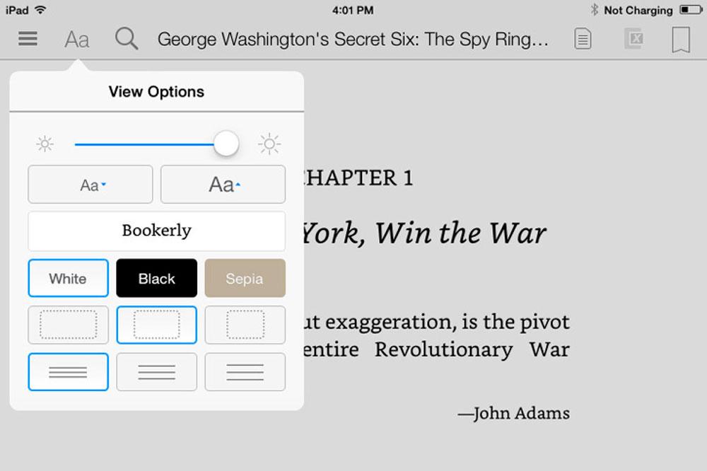 Bookerly es la nueva tipografía que sustituirá a Caecilia en los dispositivos Kindle.