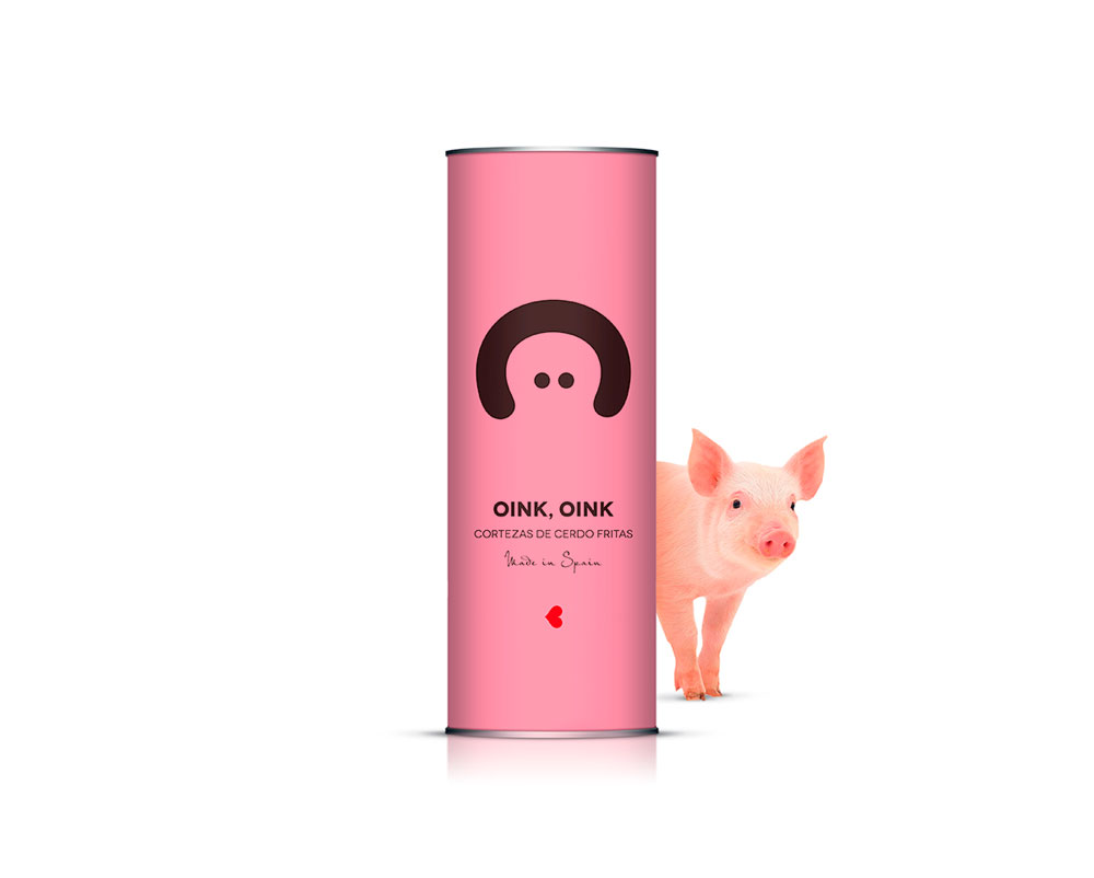 Oink Oink, un happy packaging multipremiado de Supperstudio